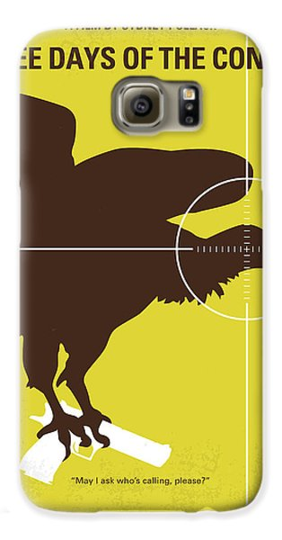 No659 My Three Days Of The Condor Minimal Movie Poster Galaxy S6 Case