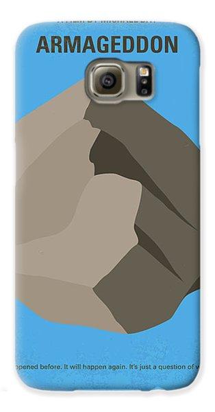No695 My Armageddon Minimal Movie Poster Galaxy S6 Case by Chungkong Art
