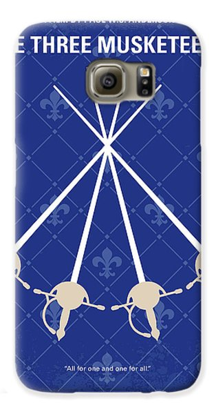Cardinal Galaxy S6 Case - No724 My The Three Musketeers Minimal Movie Poster by Chungkong Art