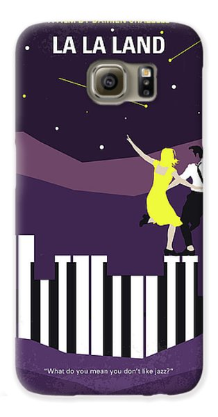 Jazz Galaxy S6 Case - No756 My La La Land Minimal Movie Poster by Chungkong Art
