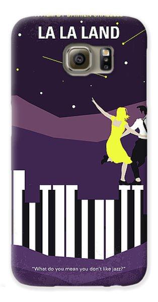 No756 My La La Land Minimal Movie Poster Galaxy S6 Case by Chungkong Art