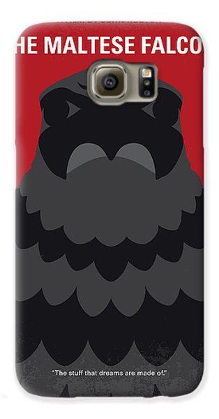 Falcon Galaxy S6 Case - No780 My The Maltese Falcon Minimal Movie Poster by Chungkong Art