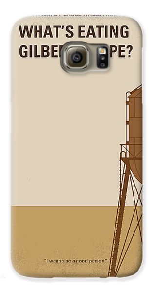 No795 My Whats Eating Gilbert Grape Minimal Movie Poster Galaxy S6 Case