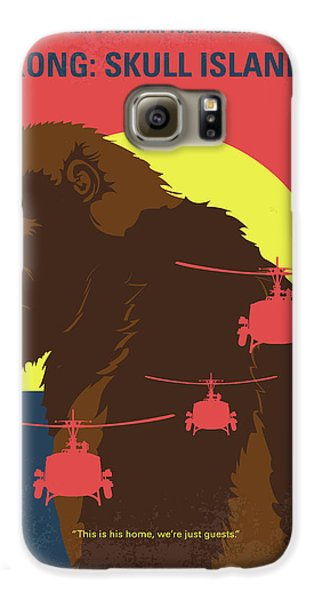 Helicopter Galaxy S6 Case - No799 My Skull Island Minimal Movie Poster by Chungkong Art
