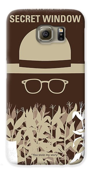 Johnny Depp Galaxy S6 Case - No830 My Secret Window Minimal Movie Poster by Chungkong Art