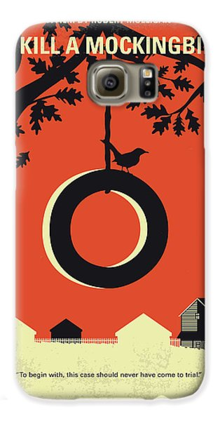 No844 My To Kill A Mockingbird Minimal Movie Poster Galaxy S6 Case
