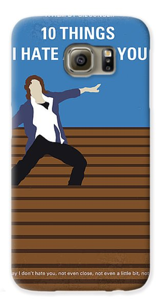 No850 My 10 Things I Hate About You Minimal Movie Poster Galaxy S6 Case