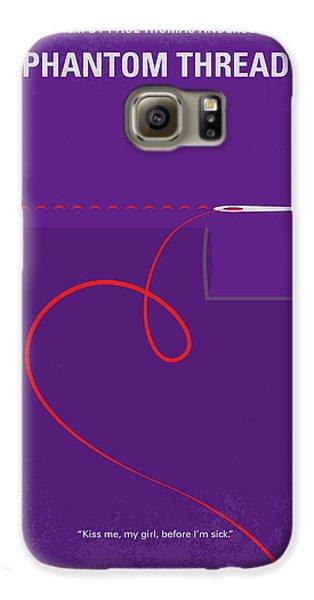 Woodcock Galaxy S6 Case - No904 My Phantom Thread Minimal Movie Poster by Chungkong Art