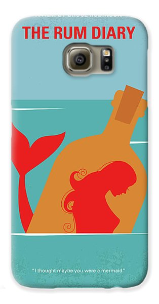Johnny Depp Galaxy S6 Case - No925 My The Rum Diary Minimal Movie Poster by Chungkong Art