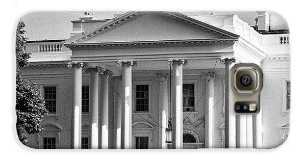 north facade of the White House Washington DC USA Galaxy S6 Case by Joe Fox