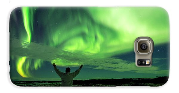 Northern Light In Western Iceland Galaxy S6 Case