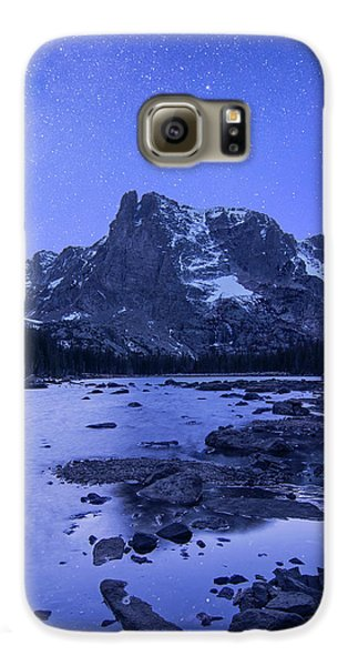 Galaxy S6 Case featuring the photograph Notchtop Night Vertical by Aaron Spong