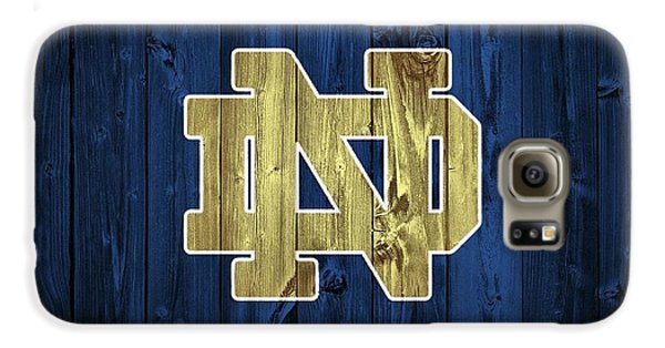 Notre Dame Barn Door Galaxy S6 Case
