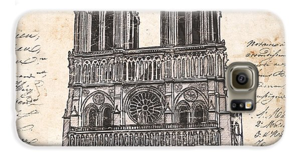 Notre Dame De Paris Galaxy S6 Case by Debbie DeWitt