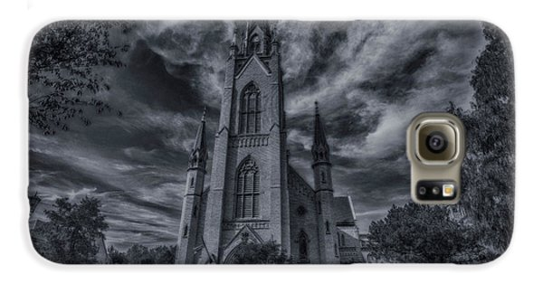 Notre Dame University Church Galaxy S6 Case by David Haskett