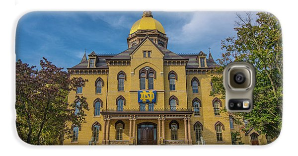 Notre Dame University Golden Dome Galaxy S6 Case by David Haskett
