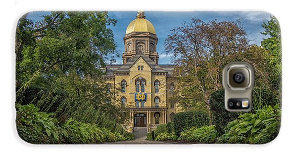 Notre Dame University Q1 Galaxy S6 Case by David Haskett