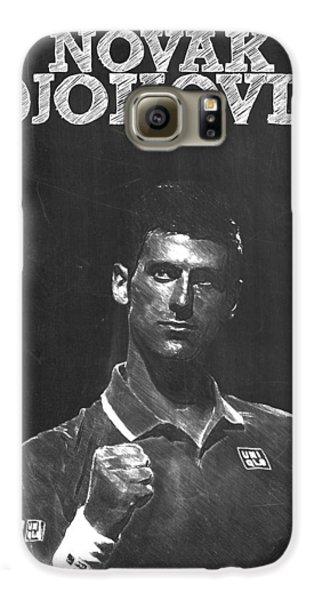 Novak Djokovic Galaxy S6 Case by Semih Yurdabak