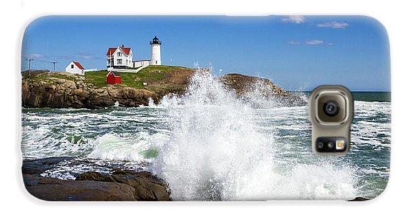 Nubble Lighthouse Galaxy S6 Case