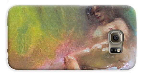 Nudes Galaxy S6 Case - Nude Study by Ylli Haruni