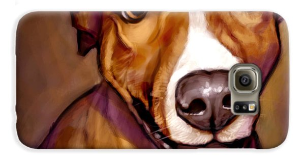 Dog Galaxy S6 Case - Number One Fan by Sean ODaniels