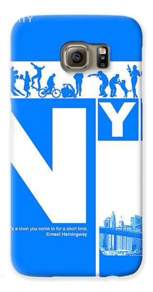 Broadway Galaxy S6 Case - Nyc Find Yourself In The City by Naxart Studio