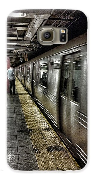 Nyc Subway Galaxy S6 Case by Martin Newman
