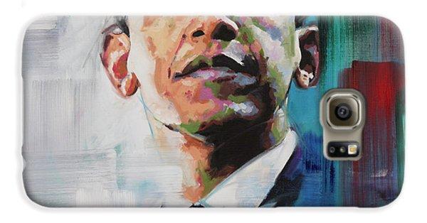 Obama Galaxy S6 Case by Richard Day