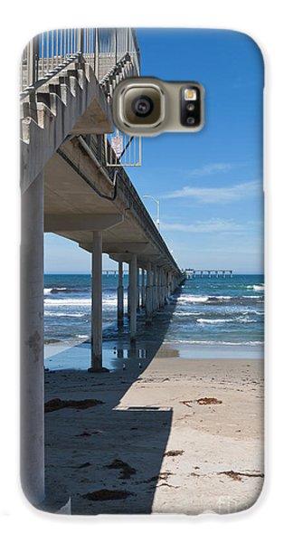 Ocean Beach Pier Stairs Galaxy S6 Case