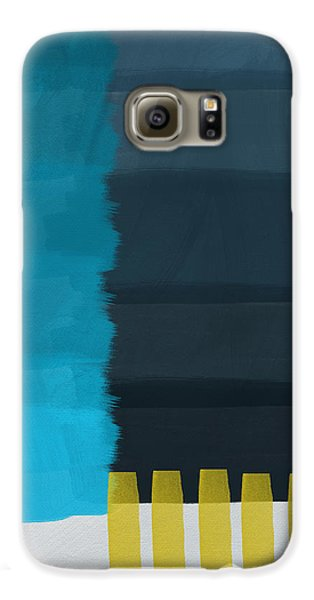 Ocean Front Walk- Art By Linda Woods Galaxy S6 Case by Linda Woods