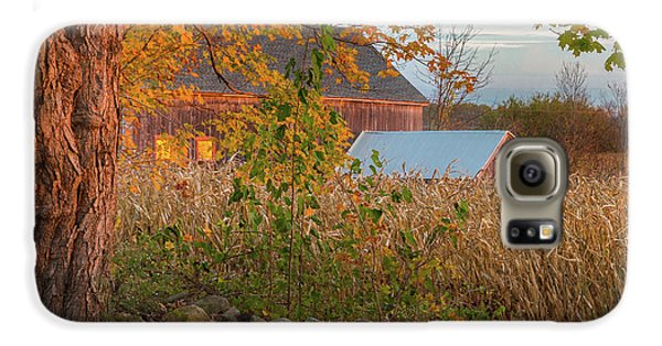 Galaxy S6 Case featuring the photograph October Morning 2016 Square by Bill Wakeley