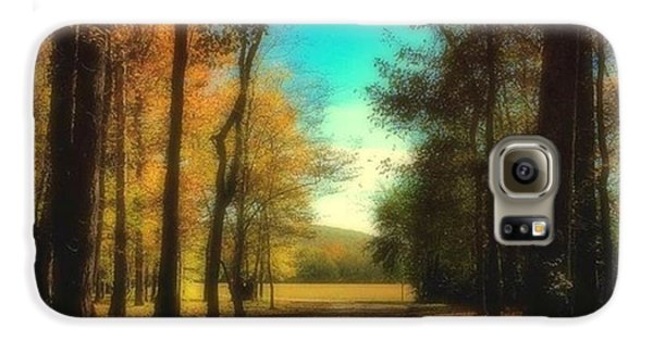 October Path Galaxy S6 Case by Steven Gordon