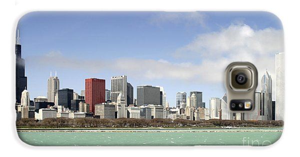 Off The Shore Of Chicago Galaxy S6 Case by Ricky L Jones
