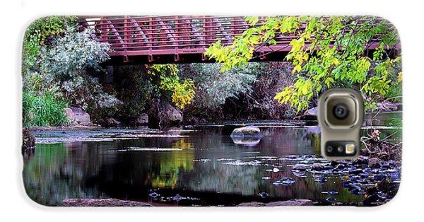 Ogden River Bridge Galaxy S6 Case