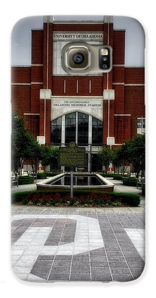Oklahoma Memorial Stadium Galaxy S6 Case by Center For Teaching Excellence