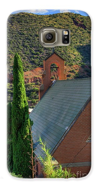 Old Church In Bisbee Galaxy S6 Case