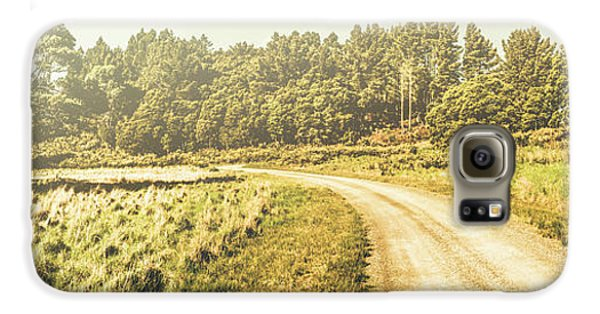 Old-fashioned Country Lane Galaxy S6 Case