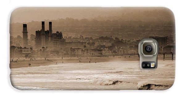 Old Hermosa Beach Galaxy S6 Case