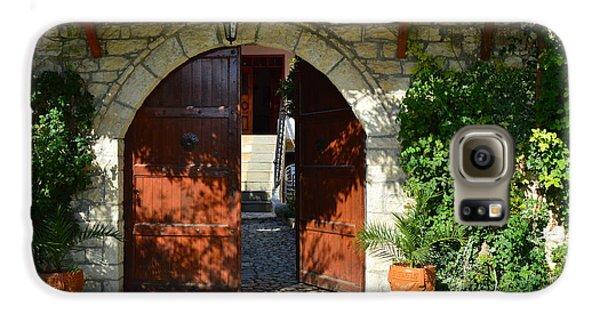 Old House Door Galaxy S6 Case by Nuri Osmani