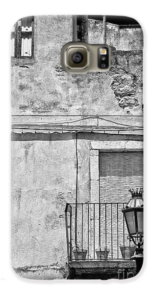 Old House In Taormina Sicily Galaxy S6 Case