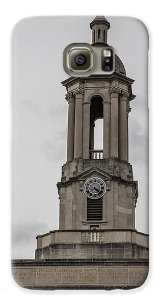 Old Main From Front Clock Galaxy S6 Case by John McGraw