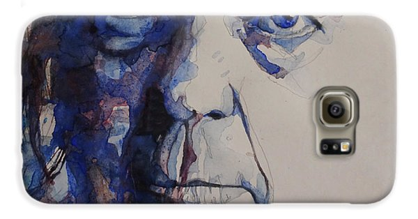 Old Man - Neil Young  Galaxy S6 Case by Paul Lovering