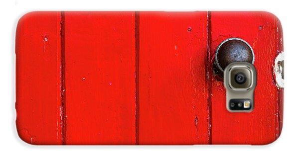 Old Red Door  Galaxy S6 Case