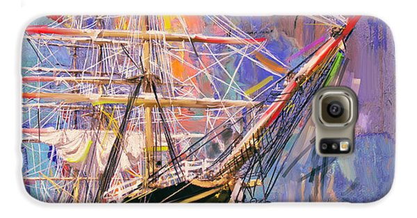 Old Ship 226 4 Galaxy S6 Case by Mawra Tahreem