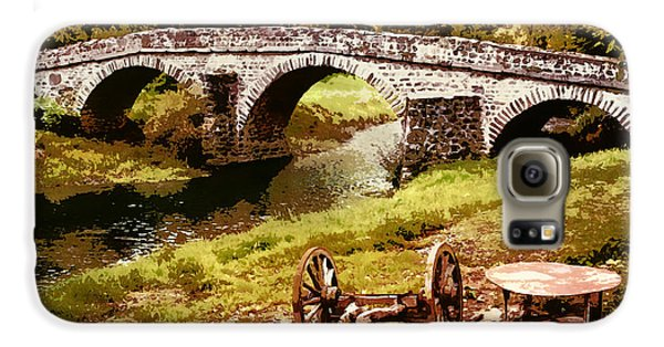 Old Stone Bridge In France Galaxy S6 Case