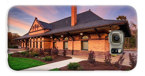 Beaver Galaxy S6 Case - Old Train Station by Emmanuel Panagiotakis