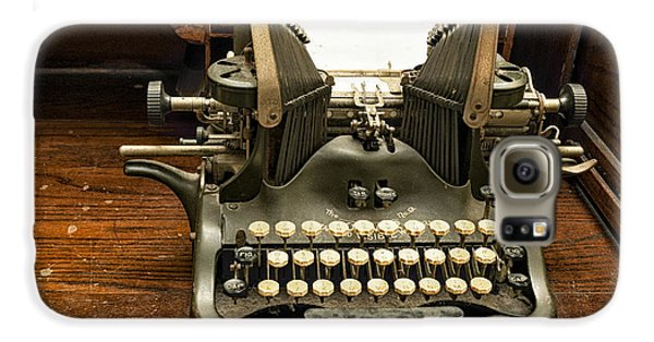 Old Typewriter Galaxy S6 Case