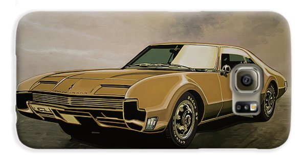 Falcon Galaxy S6 Case - Oldsmobile Toronado 1965 Painting by Paul Meijering
