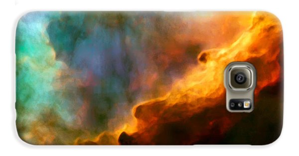 Space Galaxy S6 Case - Omega Swan Nebula 3 by Jennifer Rondinelli Reilly - Fine Art Photography