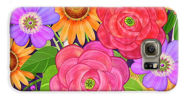 On The Bright Side - Flowers Of Faith Galaxy S6 Case